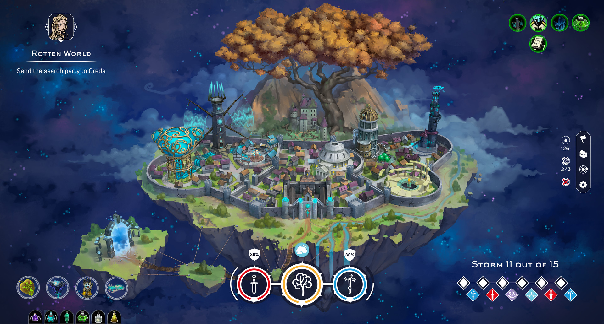 Mittleborg: City of Mages (Switch) Review – The Calm Before The Snore
