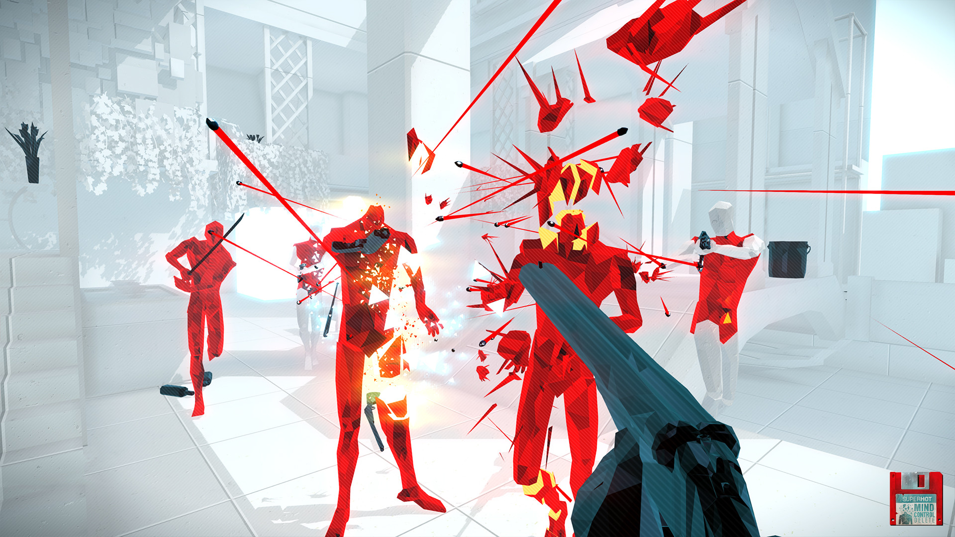 SUPERHOT: Mind Control Delete (PS4) Review – Positively Boiling