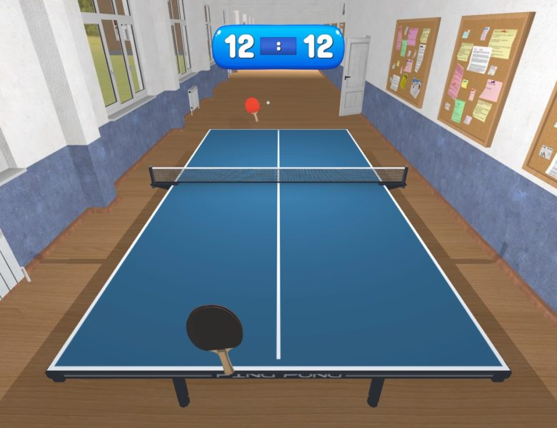 Table Tennis (PS4) Review – Swerve This One