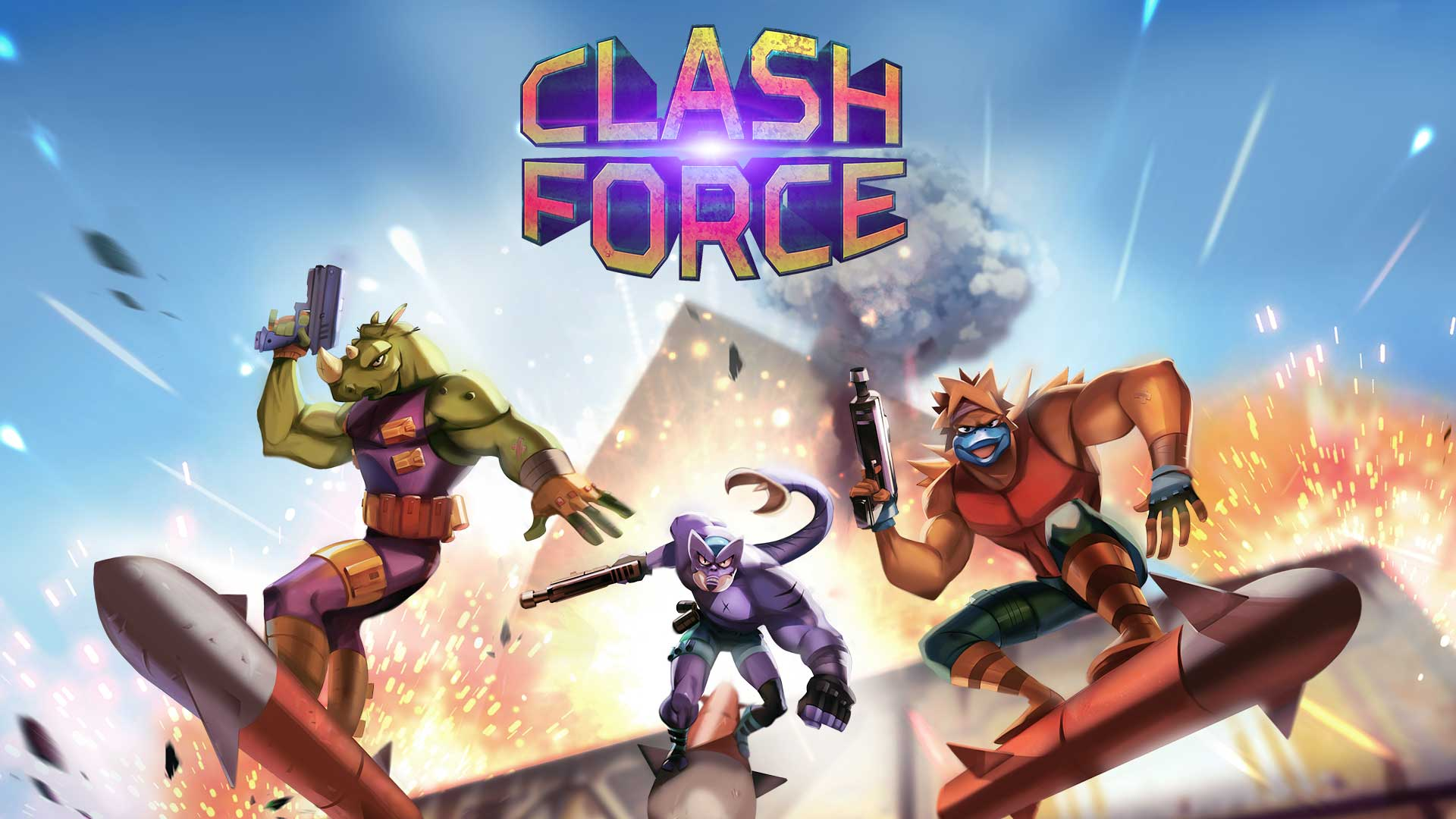 Clash Force (PS4) Review – Not-Quite-Mega-Men