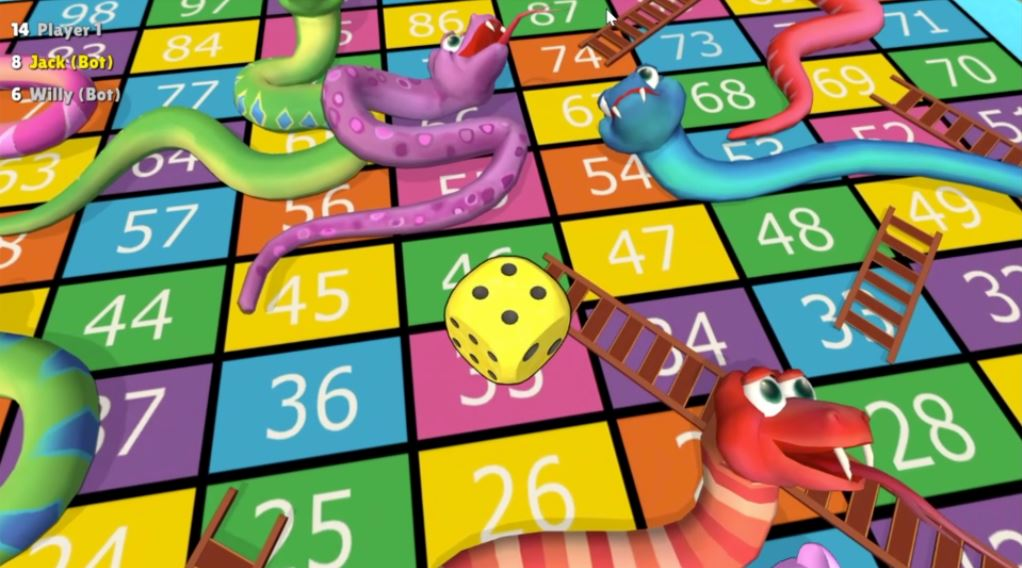 Snakes and Ladders (PS4) Review – A Classic Goes Digital