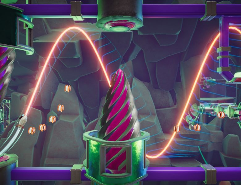 Wavey the Rocket (PC) Review – Catching that Sweet Waveform