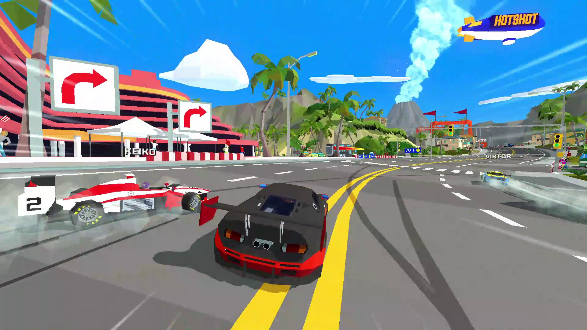 Hotshot Racing (PS4) Review – Start Your Engines!