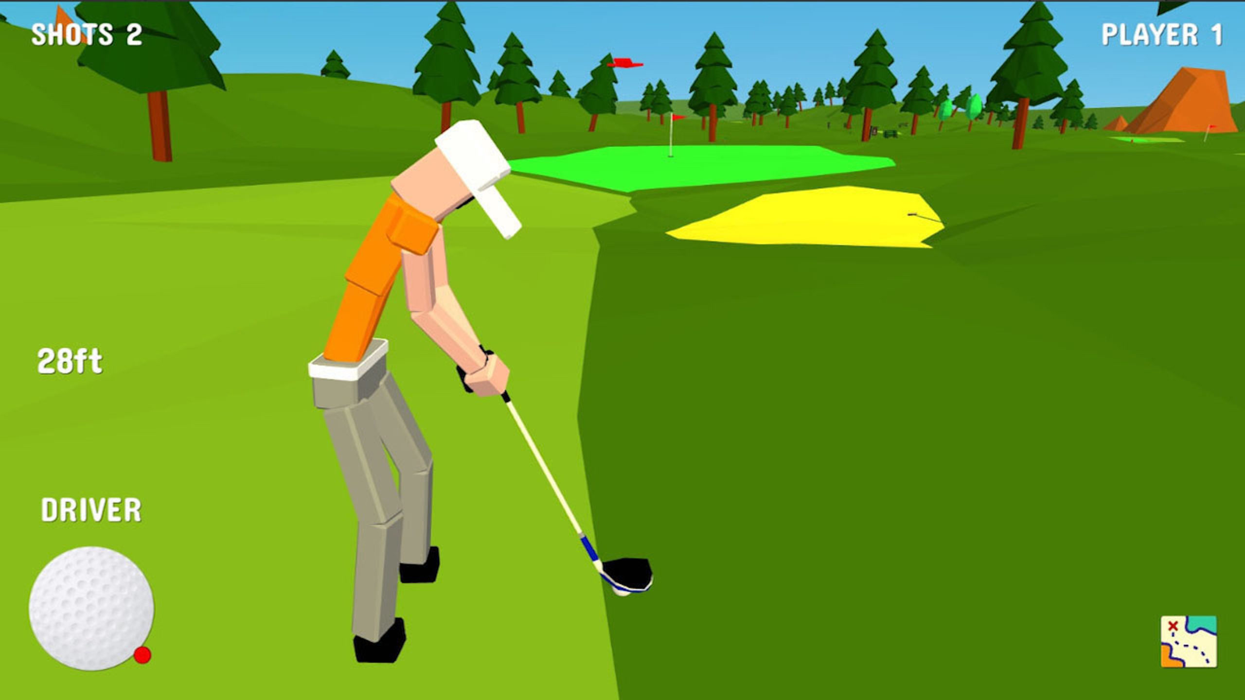 Golf (PS4) Review – A Real Triple-Bogey