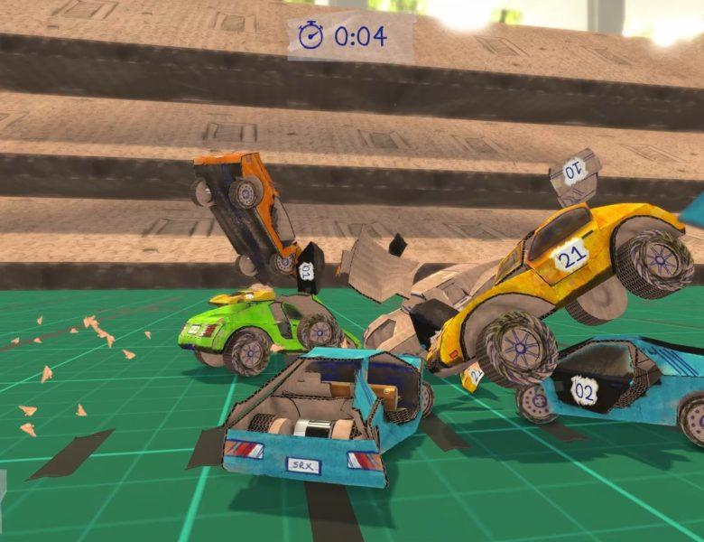 Concept Destruction (PS4) Review – Twisted Cardboard