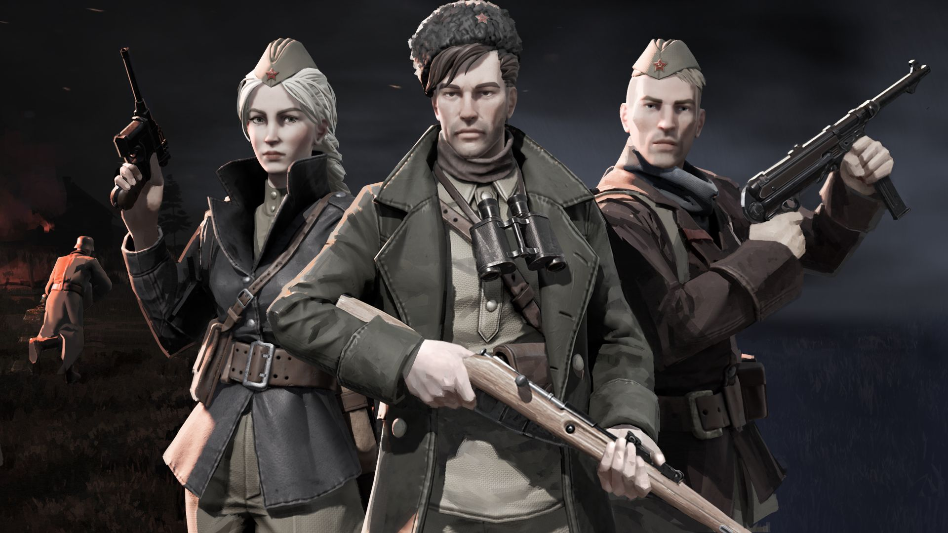 Partisans 1941 Review – Simply Red