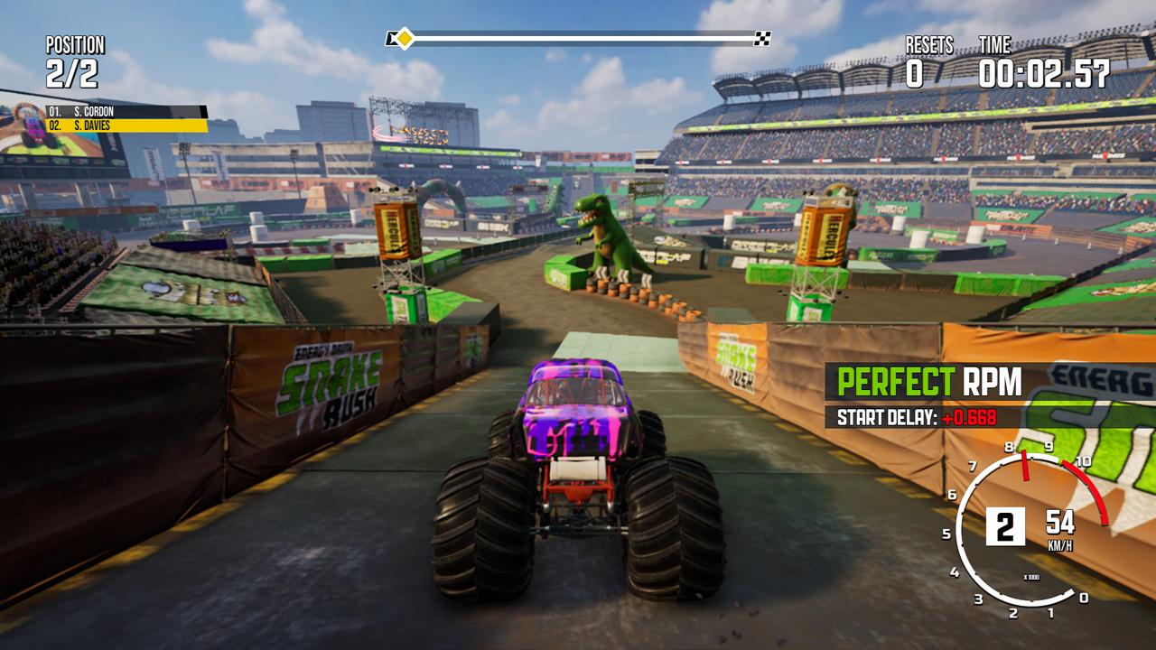 Monster Truck Championship Review Drag race