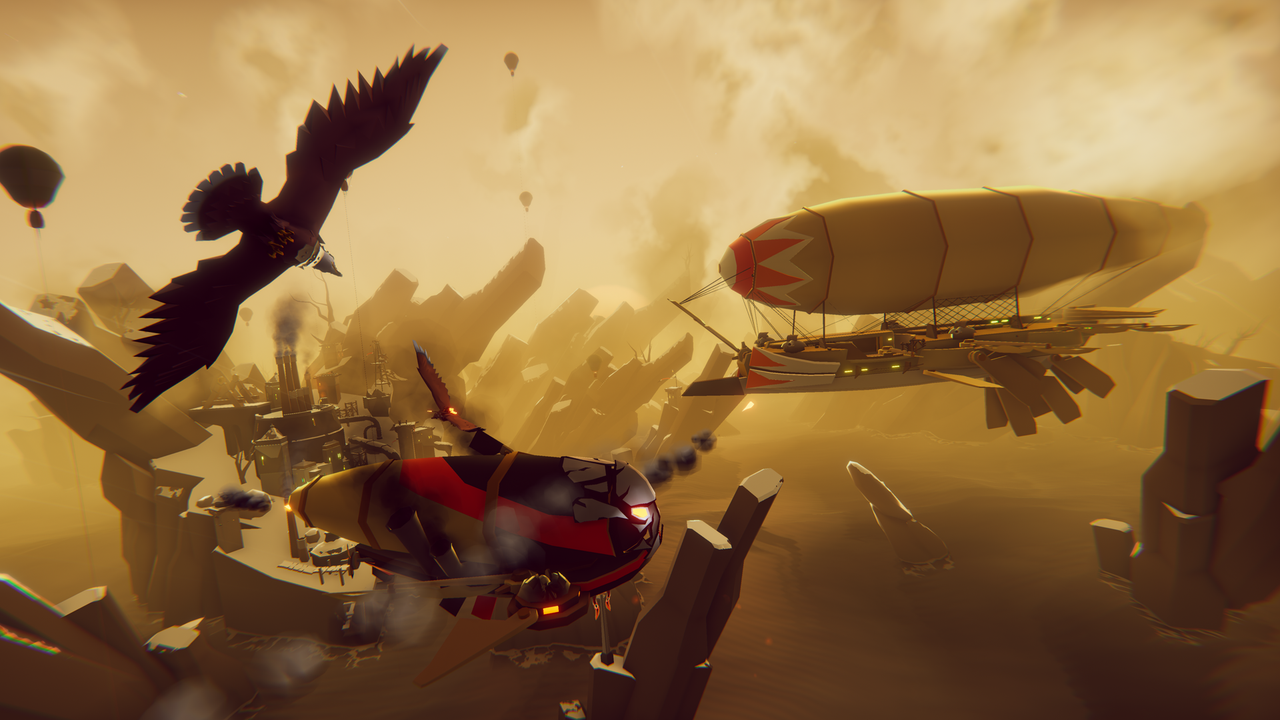 New gameplay for The Falconeer has arrived.
