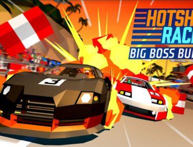 Free Hotshot Racing 'Big Boss' DLC Out Now