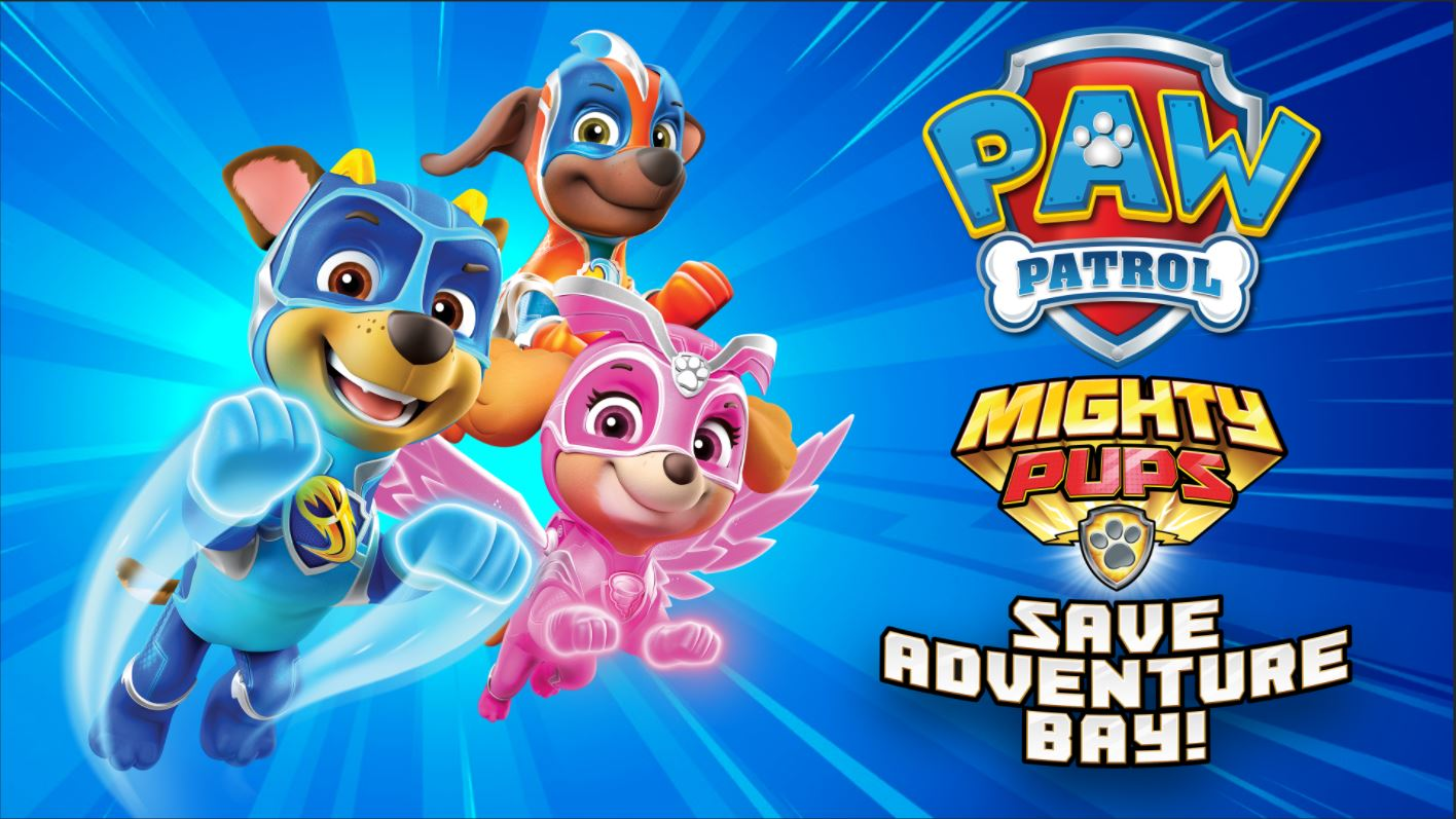PAW Patrol: Mighty Pups Save Adventure Bay Out Now on PC & Consoles