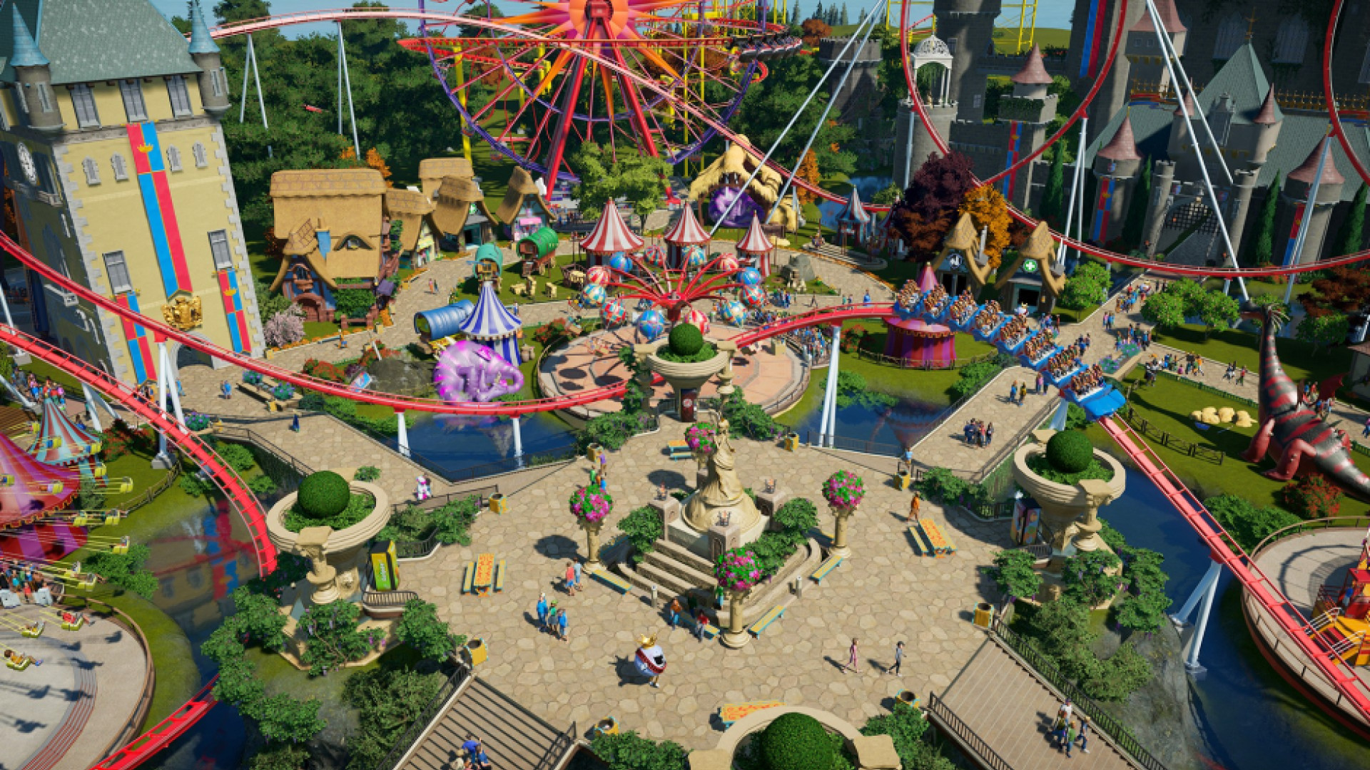 Planet Coaster: Console Edition Review (PS5) – Coastin' Makes Me Feel Good