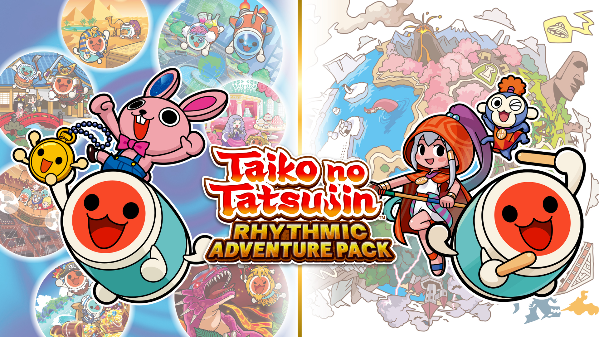 Taiko No Tatsujin Rhythm Adventure comes to the West for the first time.