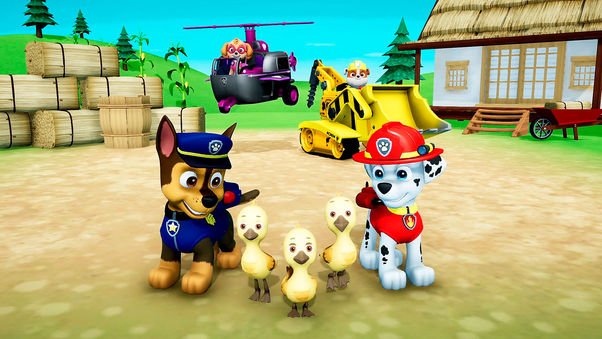 Paw Patrol On A Roll Ps4 Review A Rough Rough Rescue