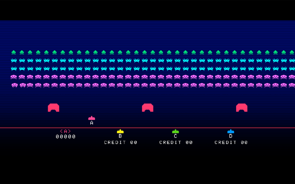 Space Invaders Forever Gigamax