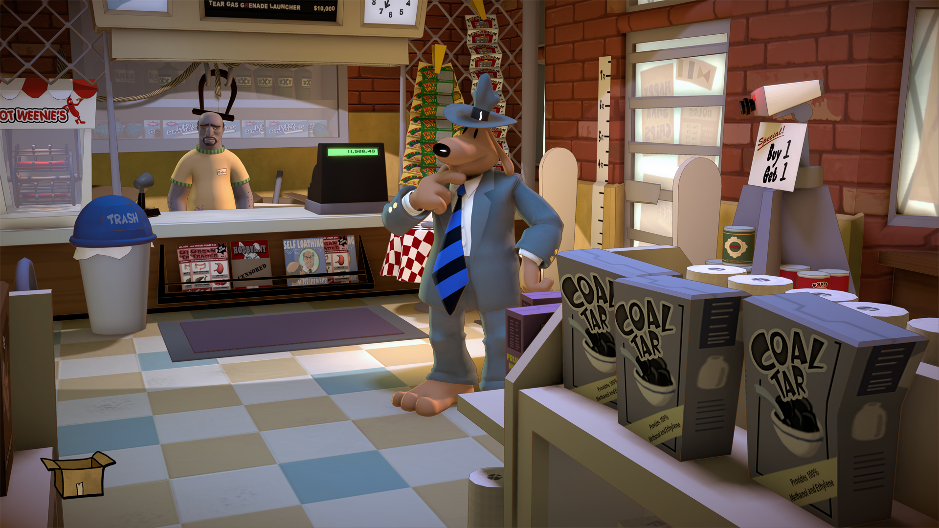 Sam & Max Save The World Review 1