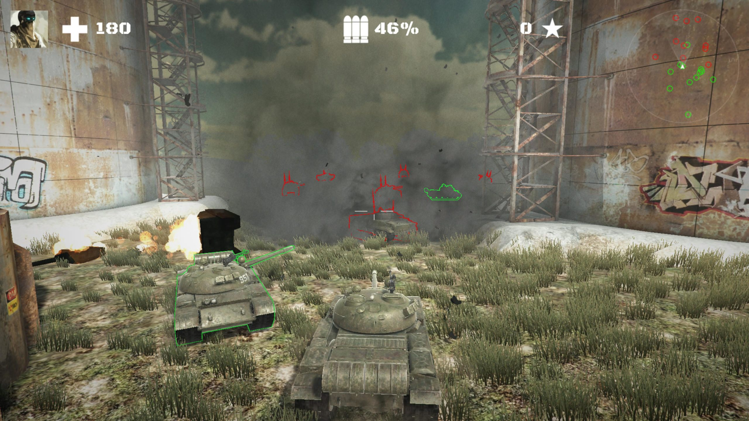 Tanks vs Tanks Review PS4