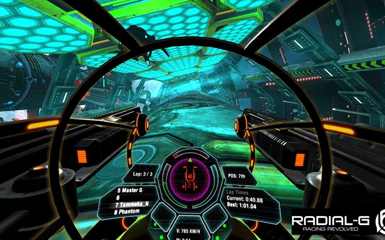 Radial-G in VR