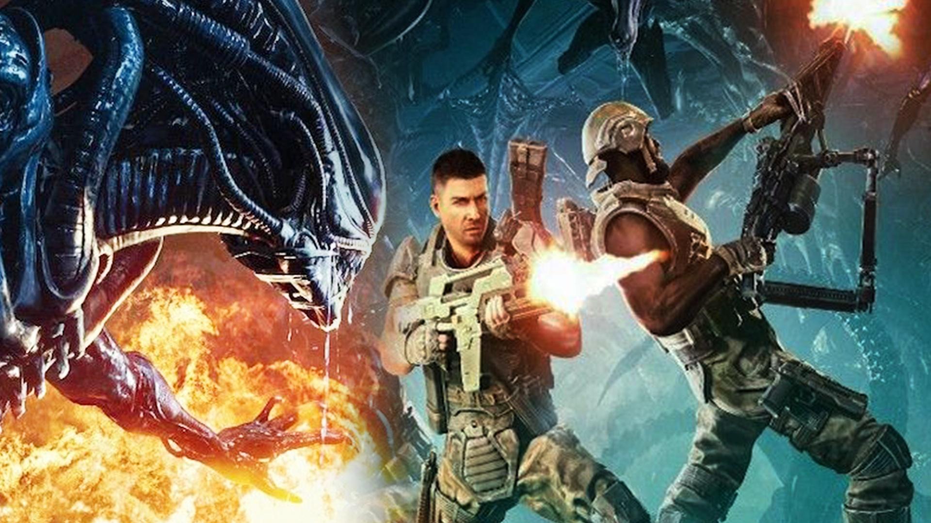 games new aliens fireteam