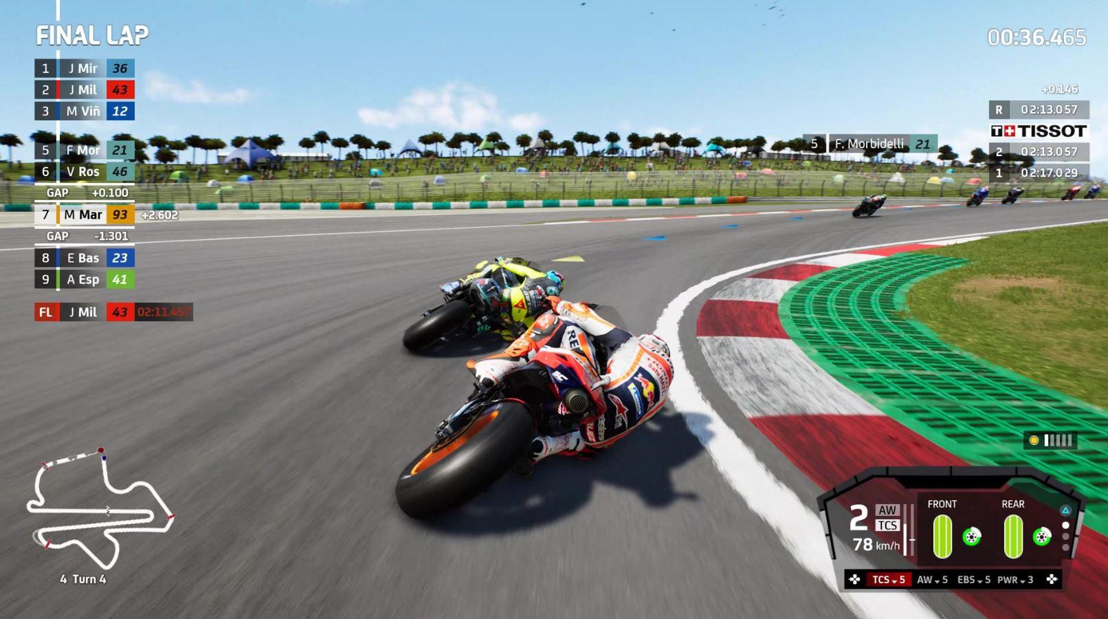 MotoGP 21 reveiw battle