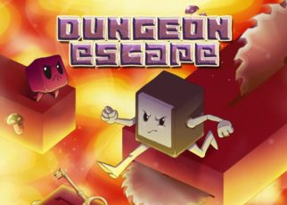 Dungeon Escape Review PS4 Header