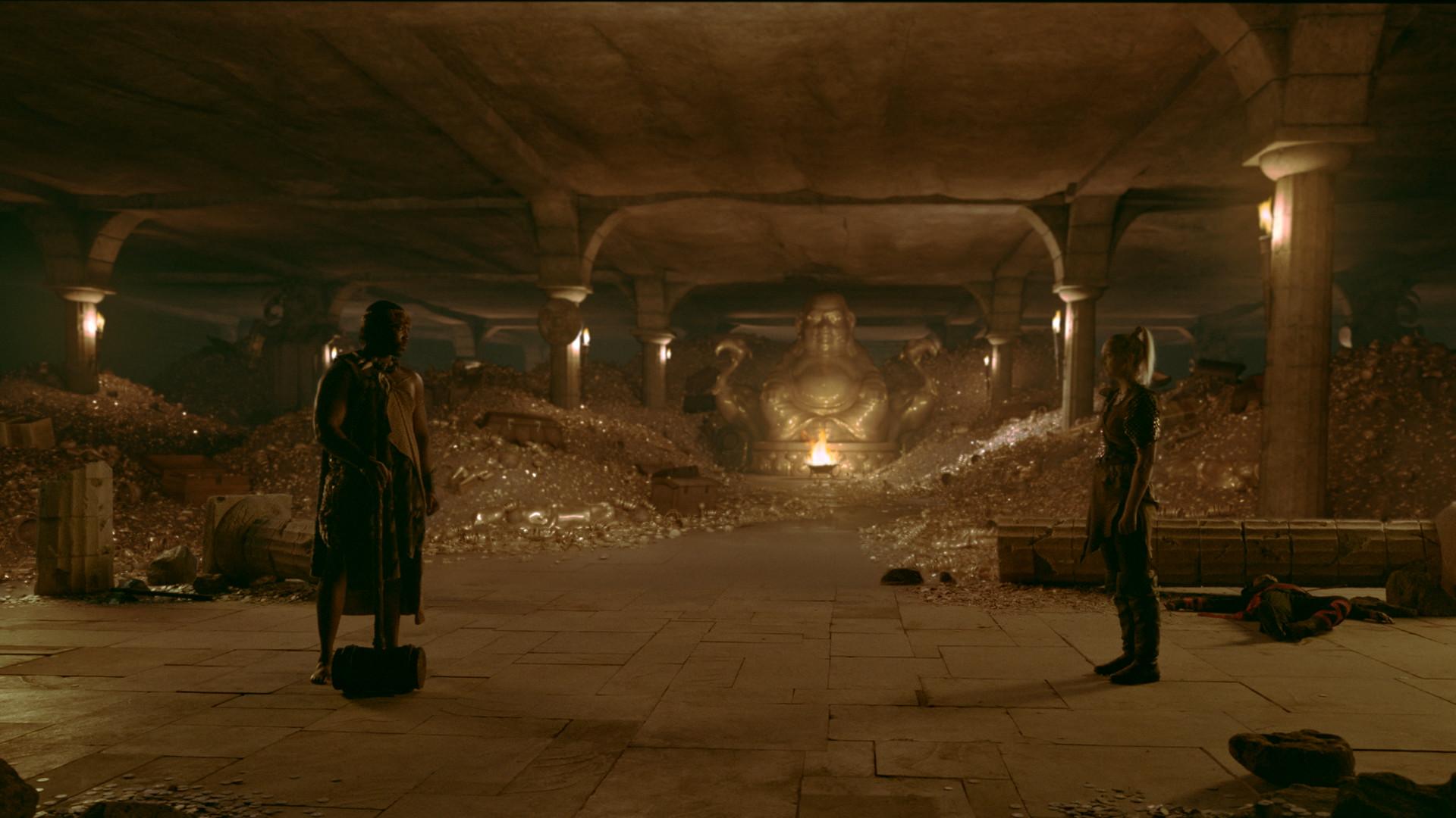 Deathtrap Dungeon: The Golden Room... room