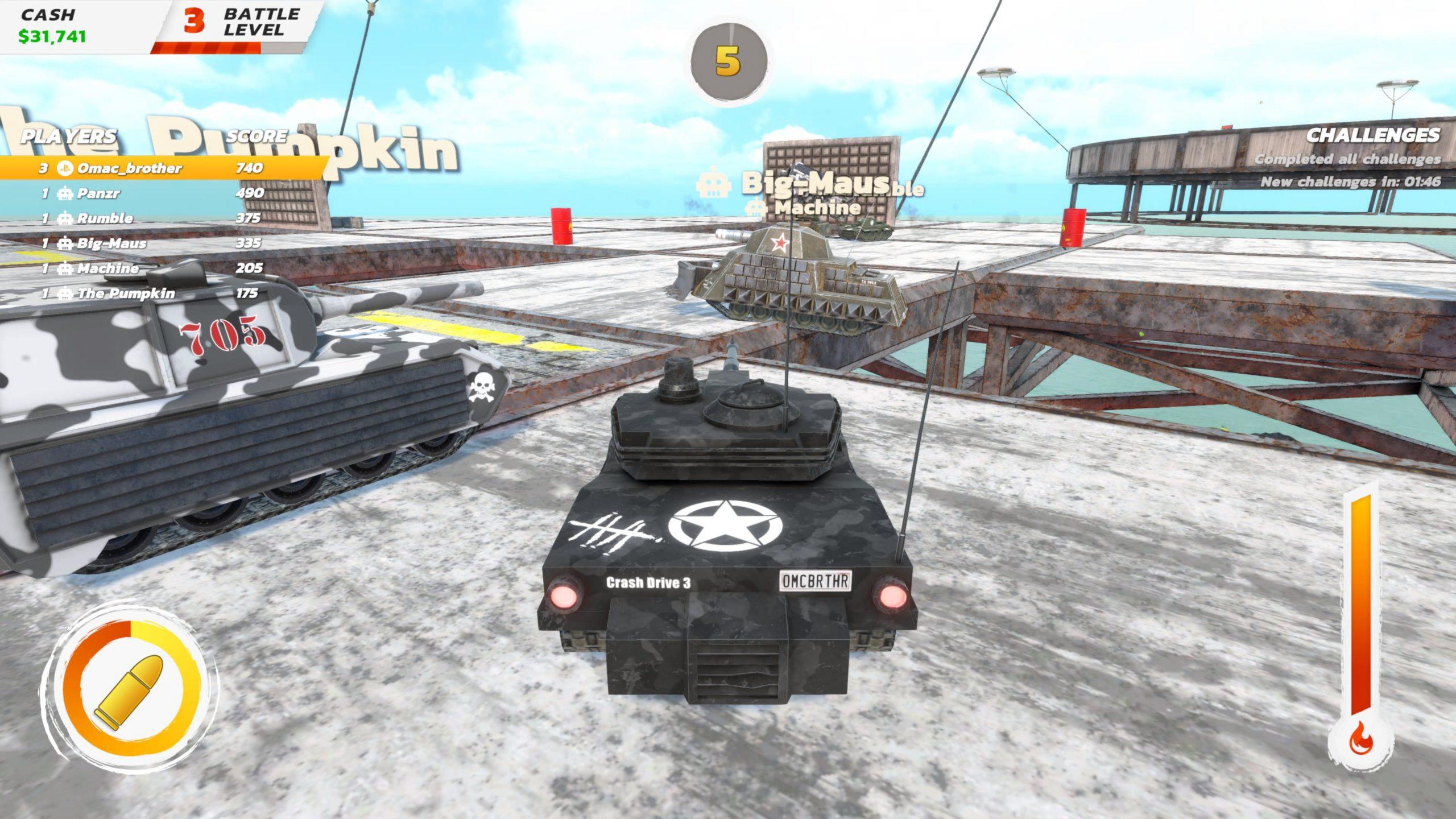 Crash Drive 3 tanks