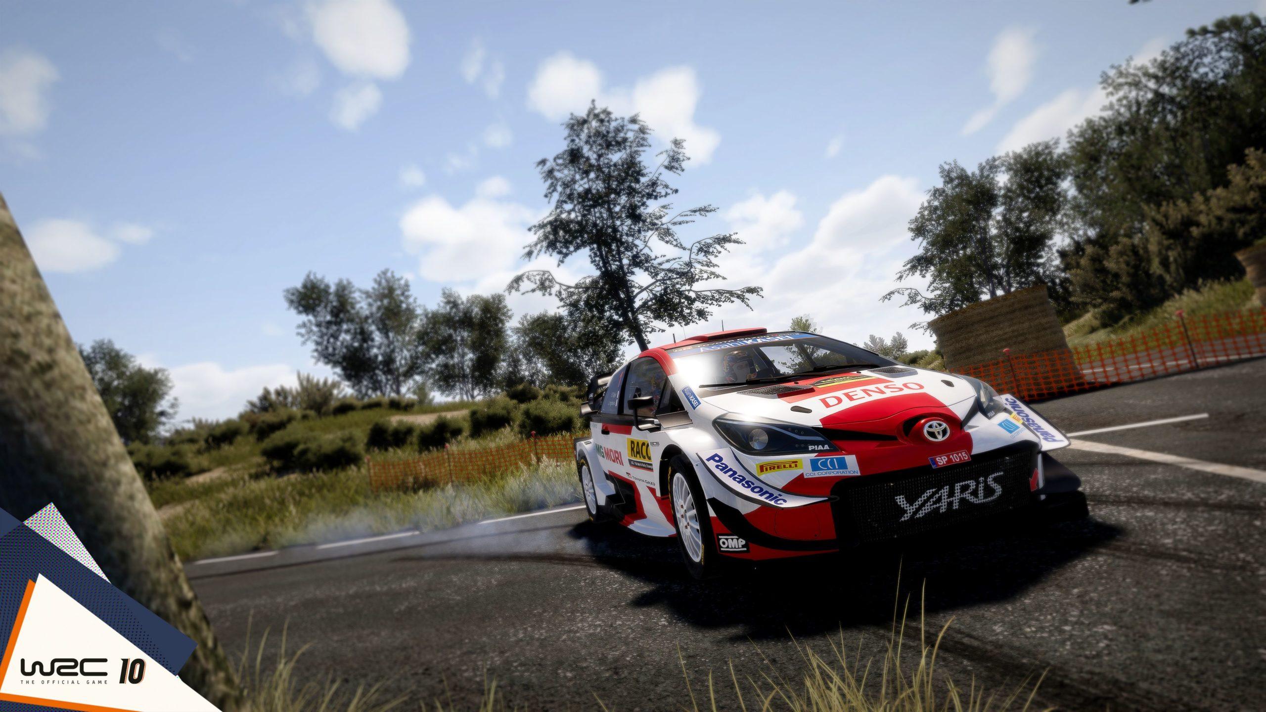 WRC 10 yaris